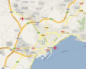 Localización de viviendas