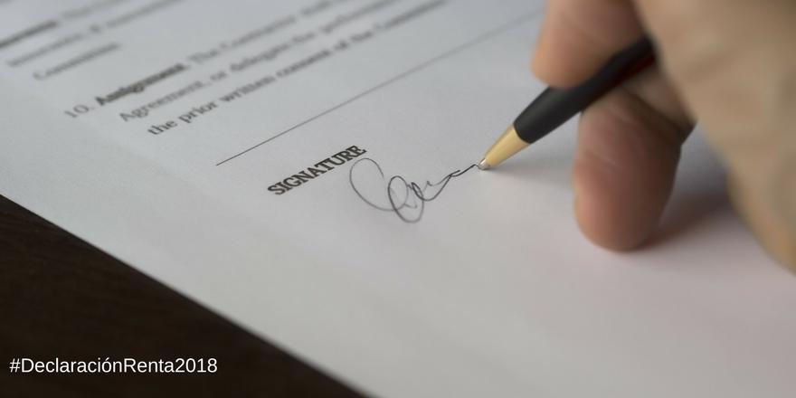 Gastos deducibles para la declaración de renta 2018